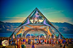 A transformational festival is more than a music festival. Transformational festivals have the power to affect rapid change by healing us and our world. Goa, Eclipse Festival, Art Festival, Festival 2017, Yoga Studio Design, Trance, Burning Man Art, Psy Art, Electric Forest