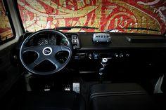 Vanagon Dash Interior | Custom Leather Recaro seats installe… | Flickr