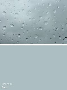 Sherwin-Williams blue paint color – Rain (SW 6219)