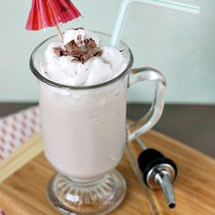 Bushwacker Cocktail - The Alabama coasts' answer to New Orleans Hurricane. Rich and decadent, bet you can't have just one!