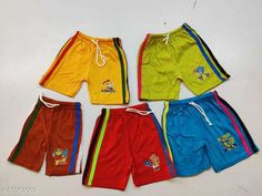 Shorts & Capris Trendy Kids Shorts Fabric: Cotton Pattern: Printed Multipack: 5 Sizes:  4-5 Years, 5-6 Years, 3-4 Years, 6-7 Years, 7-8 Years, 2-3 Years Sizes Available: 2-3 Years, 3-4 Years, 4-5 Years, 5-6 Years, 6-7 Years, 7-8 Years *Proof of Safe Delivery! Click to know on Safety Standards of Delivery Partners- https://ltl.sh/y_nZrAV3  Catalog Rating: ★4.1 (310)  Catalog Name: Flawsome Stylus Kids Boys Shorts CatalogID_1932081 C59-SC1175 Code: 062-10563063-