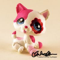 Mia the Husky custom LPS by thatg33kgirl