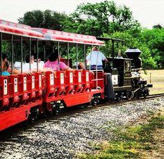 Hop on the Brackenridge Eagle miniature train at Brackenridge Park. Photo Credit: Melissa P.