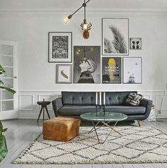 scandinavian lounge / home decor