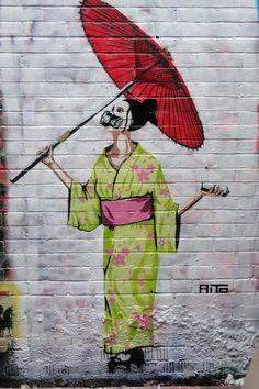 AITO @ Graffik Gallery Portobello | by Clippa Graffiti