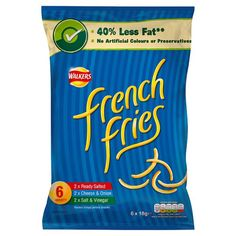 Walkers French Fries Variety 6X18g
