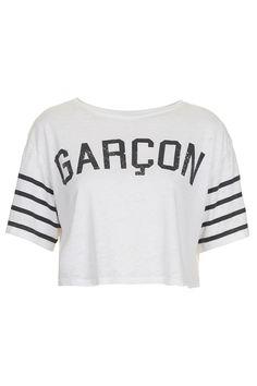 GARCON CROP TOP - Topshop price: £16.00