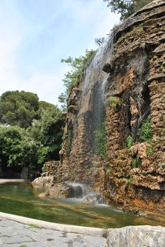 A waterfall in Nice, France?! Definitely one of the top 10 things to do!