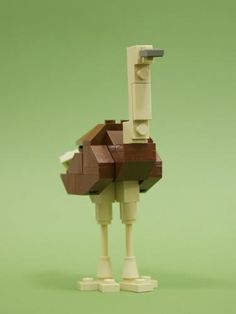 #LEGO #Microscale Ostrich