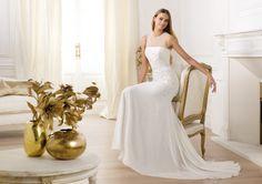 Pronovias te presenta el vestido de novia Libusa. Fashion 2014. | Pronovias