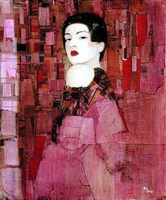 Richard Burlet / To Klimt Richard Burlet, Collage Art, Collages, World Famous Artists, Illustration Art, Illustrations, Figure Painting, Portrait Art, Artist Art