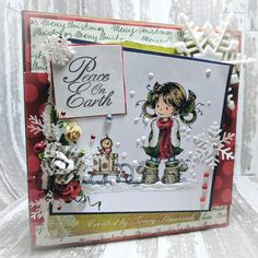 Christmas Card  Whimsy Stamps