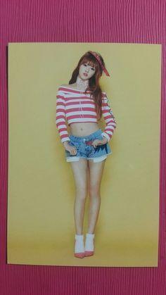 OH MY GIRL YOOA Official Photocard TOP ver. 3rd Album PINK OCEAN YOO A 유아