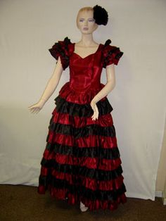 Fancy Dress Costumes and Accessories: Flamenco