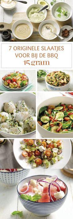 Original salads for the barbecue - Megan Home Barbecue Garden, Barbecue Ribs, Barbecue Chicken, Barbecue Recipes, Grilling Recipes, Vegetarian Barbecue, Cobb Bbq, Healthy Cooking, Gourmet