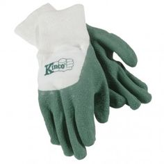 """These are child sized """"wet soil"""" gloves. Can't wait to start planting a garden with school aged kids this summer."""