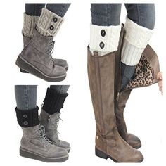 Santwo Women Winter Warm Crochet Knitted Boot Cuff Sock S... https://smile.amazon.com/dp/B01M126KT3/ref=cm_sw_r_pi_dp_x_FIHqyb6D7A7CK