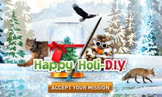This year you can help conserve Canada's forests and the animals living there by making your own holiday gifts and decorations! Holiday Gifts, Holiday Decor, Save Animals, Happy Holidays, Make Your Own, Crafty, Christmas Ornaments, Fun, Kids