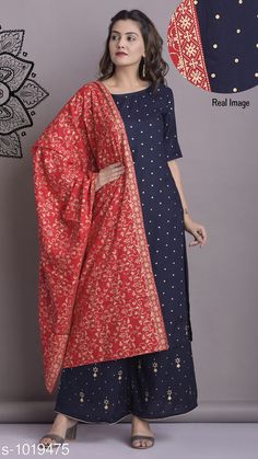 Kurtis & Kurtas Women's Polka Dot Printed Rayon Kurti Fabric: Kurti - Rayon Dupatta - Rayon Sleeves: 3/4th Sleeves Are Included Size: Kurti - M - 38 in L - 40 in XL - 42 in Dupatta - 2 Mtr Length: Kurti - Up To 54 in Type: Stitched Description: It Has 1 Piece Of Women's Kurti & 1 Piece Of Dupatta Work: Printed Country of Origin: India Sizes Available: M, L, XL, XXL   Catalog Rating: ★4.1 (3141)  Catalog Name: Women's Polka Dot Printed Rayon Kurti CatalogID_122956 C74-SC1001 Code: 226-1019475-