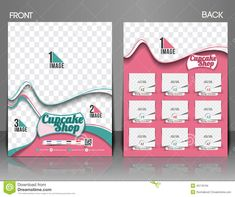 Cup Cake Shop Flyer - Download From Over 44 Million High Quality Stock Photos, Images, Vectors. Sign up for FREE today. Image: 45116194
