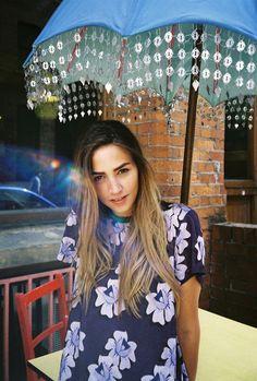 Sunday by Amy Lidgett  #fashion #fashionphotography #photography #photographer #model #shoot #photoshoot #styling #cafe #henryholland #floral #anylidgett