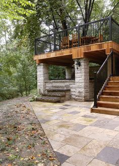 17 best under deck ideas images on pinterest patio under decks backyard patio and decking - Patio Under Deck