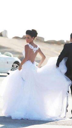 Stunning bride #wedding