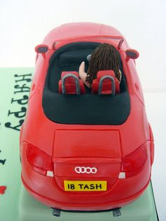 Audi TT  Cake by MelysCakeDesign