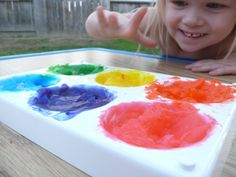 Reverse Finger Painting