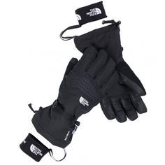 7. The North Face Etip Facet Gloves    These gloves combine waterproof protection, moisture permeability and durability.