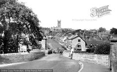 Ludlow, From The Bridge c.1955, from Francis Frith