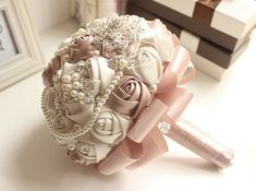 Hey, I found this really awesome Etsy listing at https://www.etsy.com/listing/250091636/on-sale-brooch-bouquet-wedding-bouquet
