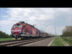 Macejko gorila na IC 522 pri Ilave Train, Youtube, Zug, Strollers, Trains