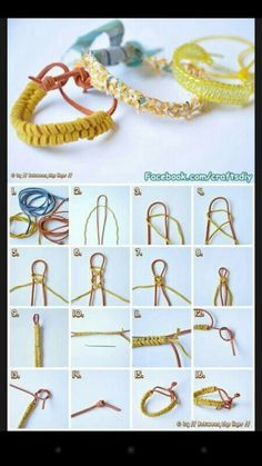 Different way to make rubber band bracelet