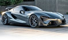 If we weren't drooling over the Toyota FT-1 Concept before, this certainly reactivated the salivary glands.  Check out this graphite exterior variant.