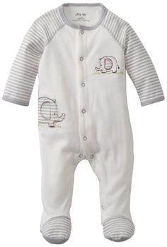 Amazon.com: Little Me Baby-Boys Newborn Elephant Footie: Clothing