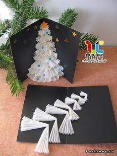 Craft Christmas Cards Diy 68 Best Ideas Christmas for you - Happy Christmas - Noel 2020 ideas-Happy New Year-Christmas Christmas Card Crafts, Homemade Christmas Cards, Christmas Projects, Kids Christmas, Holiday Crafts, Simple Christmas, Recycled Christmas Decorations, Pop Up Christmas Cards, Handmade Christmas Crafts