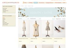 Beautiful layout for shop website. I would expect nothing less for Anthro. http://us.anthropologie.com/anthro/catalog/category.jsp?=CLOTHES-SHINE_mmc=Twitter-_-2011_Anthropologie-_-Holiday%20Dressing-_-Sequin%20%26%20Shine