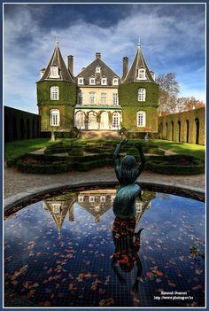 Chateau de la Hulpe garden
