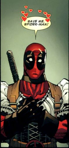 Lol Dead pool is hilarious! Prob one of my favorite Marvel characters...