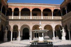 Casa de Pilatos, Sevilla (imágen de AudioGuías Urbanas). #Sevilla #Seville #sevillaytu @sevillaytu
