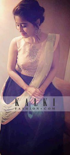 The beautiful & charming, Shweta Tripathi giving us major bridesmaid goals with KALKI's crop top legenga. We totally love! Wedding Wear, Wedding Attire, Wedding Outfits, Wedding Dresses, Lehenga, Anarkali, Sarees, Indian Outfits, Indian Clothes