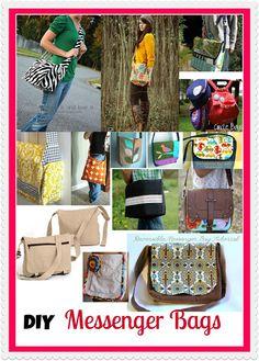fresh juniper: Messenger Bag Tutorials - DIY Messenger Bag Collection