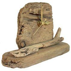 driftwood Clock | Clock - Small Driftwood Mantel Clock