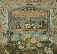 N e e d l e p r i n t: The Stonington Collection of Samplers @ Auction * Christies New York * 25 January 2013