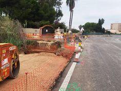 El carril ciclopeonal entre el Mareny de Barraquetes y las Palmeras estará finalizado en diciembre