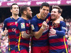 Atletico bỏ cuộc Barca và Real Madrid tranh đua đến phút cuối