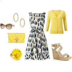 Sunday Brunch - love this, although high heals scare me...like wedges tho