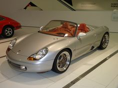 Original Boxter Concept - which Porsche foolishly never put into production.  When they restyled it, they ruined it.