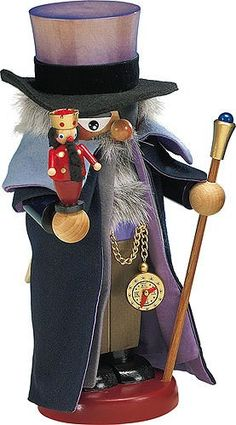 German Christmas Nutcracker Drosselmeyer  30cm  115 inch  Steinbach * This is an Amazon Affiliate link. Details can be found by clicking on the image.